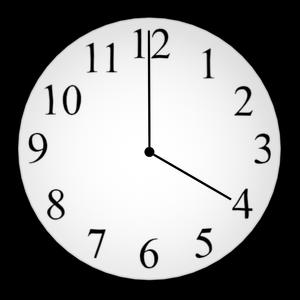 vier Uhr Elf